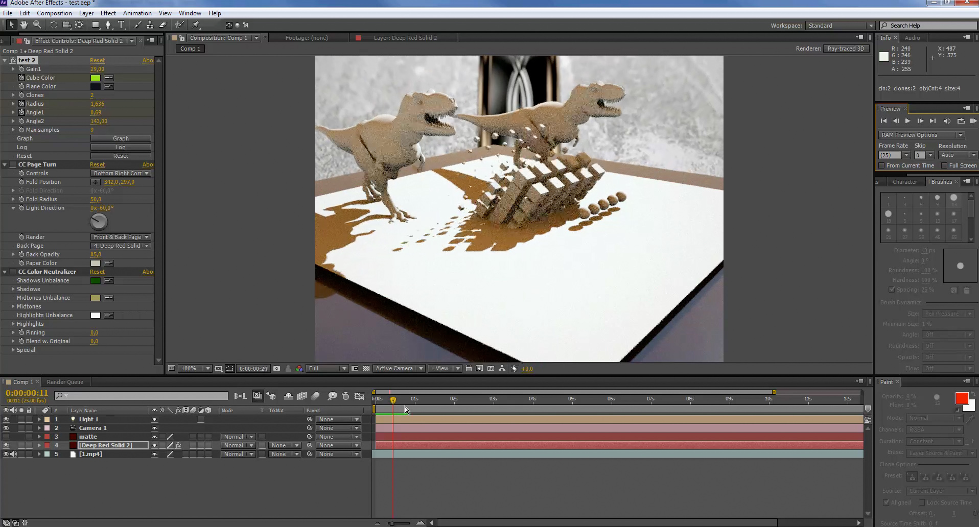 2014 Nab Show Otoy Brings Octanerender To Adobe After Effects Providin...