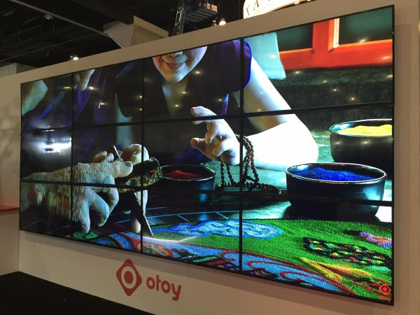 OTOY 16K Video Wall