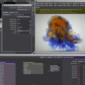 OctaneRender 3 Volumetric Cloud Workflow