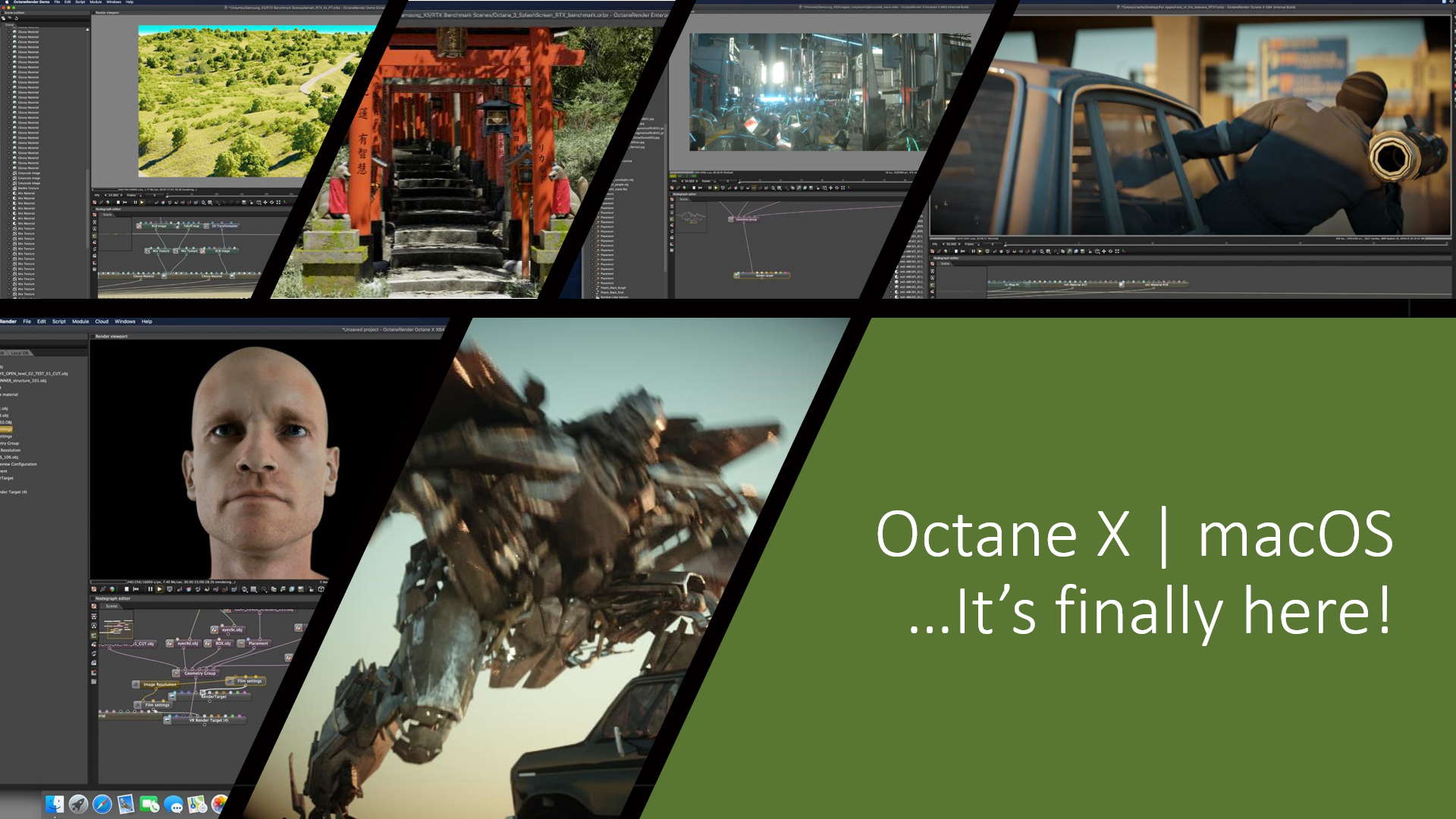 Octane X | PR1 is out for macOS Catalina!